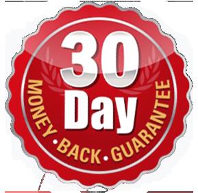 30 DAY MONEY BACK GUARANTEE!