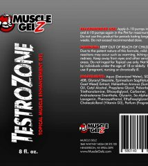 musclegelz label TestroZone